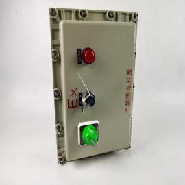 依客思电伴热专用控制配电箱铝合金隔爆定制户外动力配电柜动力控制箱BXM-T