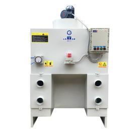 利琦(LC)自激喷淋湿式除尘器 除尘器 除尘抛光机 除尘设备LC-ZYSF300-3