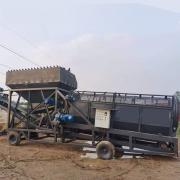 龙鑫机械矿山无轴滚筒筛石机lx2060