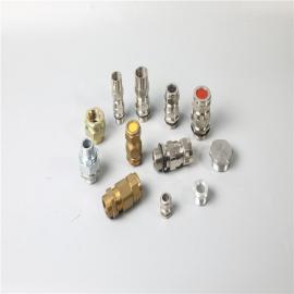 依客思碳钢 不锈钢 黄铜防爆管接头/挠性管活接头BDM-V111-G2