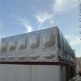 hua腾达18立方bu锈钢水箱安zhuang,消防水箱ding制HTD-BXG18T