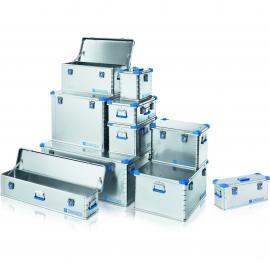 zarges地震救援队装备选用Eurobox轻便易携带铝制运输箱40709