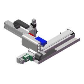 XYZ三轴悬臂式线性模组滑台机械手直线模组电动缸