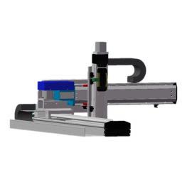 直线模组XZ轴极坐标机械手专用线性模组滑台电动缸