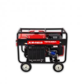 大泽动力250A汽you发电焊机移动焊接TOTO250A