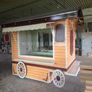 时景移动售卖车景区售货亭小吃车奶茶甜品车电动四轮流动售货车SG