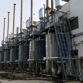 绿联净化 天然气发电机组尾气后处理装置 尿素脱硝去除氮氧化物 SCR脱硝系统