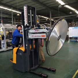 汉尔得铝卷上料搬运吸盘车、适用于汽车空调、散热器行业内的铝箔卷HT500-3