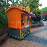 SG时景商业街售货车,商业街贩卖亭,游乐园小吃车,景区移动摊位车