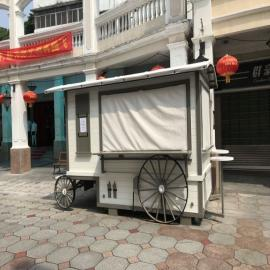SG时景户外防腐木售货亭商业街移动景区木制售卖亭