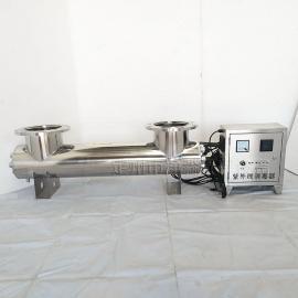 定州净淼高速服务区fan渗透水处理紫wai线杀菌器净水过lv紫wai线xiao毒器JM-UVC系列