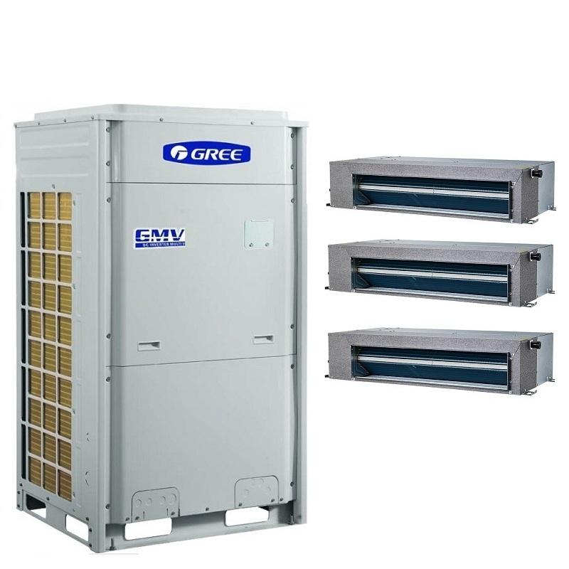 格力GREE格力变频中央空调销售安装 格力别墅多联机TOPS系列GMV-H350W/B