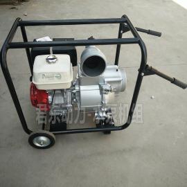 君东大流量防汛用6寸本田汽油水泵抽水机WB150XH