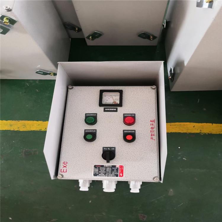 依客思BZC83-A2B1K1L增安体防爆操作按钮箱EdeIICT6
