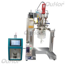 欧河小型可通氮qi保护的机械搅拌guan/卫生级不xiugang超声反应釜批.发AIR-2S