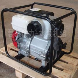 君东动力原装进口WT30HX本田动力汽油泥浆泵|3寸本田污水泵WT30HX