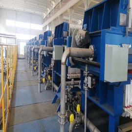 光伏废水处理压滤机安装LCHB