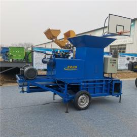圣泰青贮圆捆打包机产量 黑麦草的营养价值YK5552