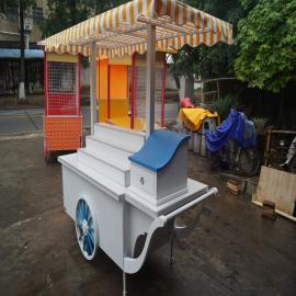 SG时景家具可定做主题公园售货亭彩绘卡通售卖亭步行街摊位商亭移动餐车