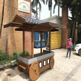 SG时景家具售卖亭公园售货亭移动售货车