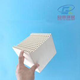 冠霖RTO专用蓄热陶瓷40*40孔150*150*300