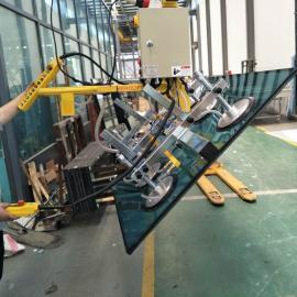 汉尔得90度电动翻转吸吊机、玻璃特种车辆板材吸盘吊具BLS500