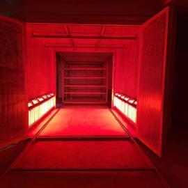 强xin红外线高温烤漆房塑粉gu化炉烤漆设备面包炉烤粉房QX非标ding制款