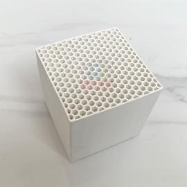 冠霖莫来石蜂窝陶瓷蓄热体100*100*100