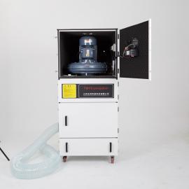 全风5.5kw打磨集尘机工业柜式金属碎屑集吸尘器MCJC