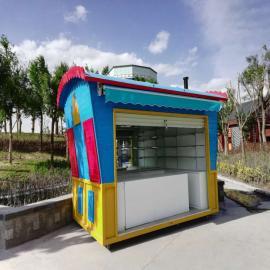 SG时景欧式移动快餐车 流乐园美食售货亭 小吃商铺 广场售货车