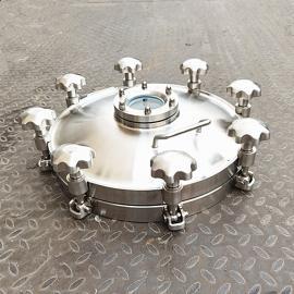 巨捷卫生级罐观察口人孔盖 卫生级耐压罐上手孔 压力罐观察视镜人孔YAA