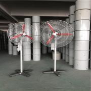 伊贝防爆摇头扇FB-600-380V壁挂式工业风扇BTS-600