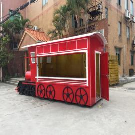 SG时景家具广场雪糕木制售货亭景区移动售卖车冷饮贩卖岗亭商品零售花车