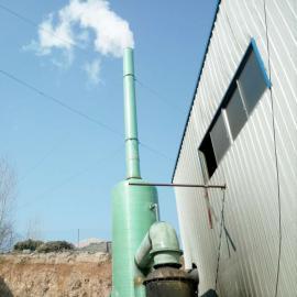 玻璃钢脱硫烟囱管道门达