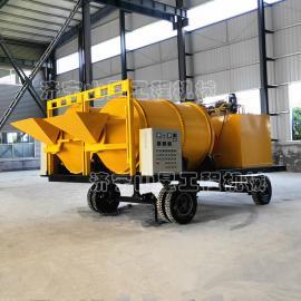 山星机械沥青双滚筒拌合机生产厂 保温环保型沥青拌合机 提高效率拌合机 SA-3F