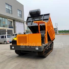 山xingjixie全地形橡胶lv带运输che 后桥驱动快速xing驶运输che chengzai8-10吨SJ-8T