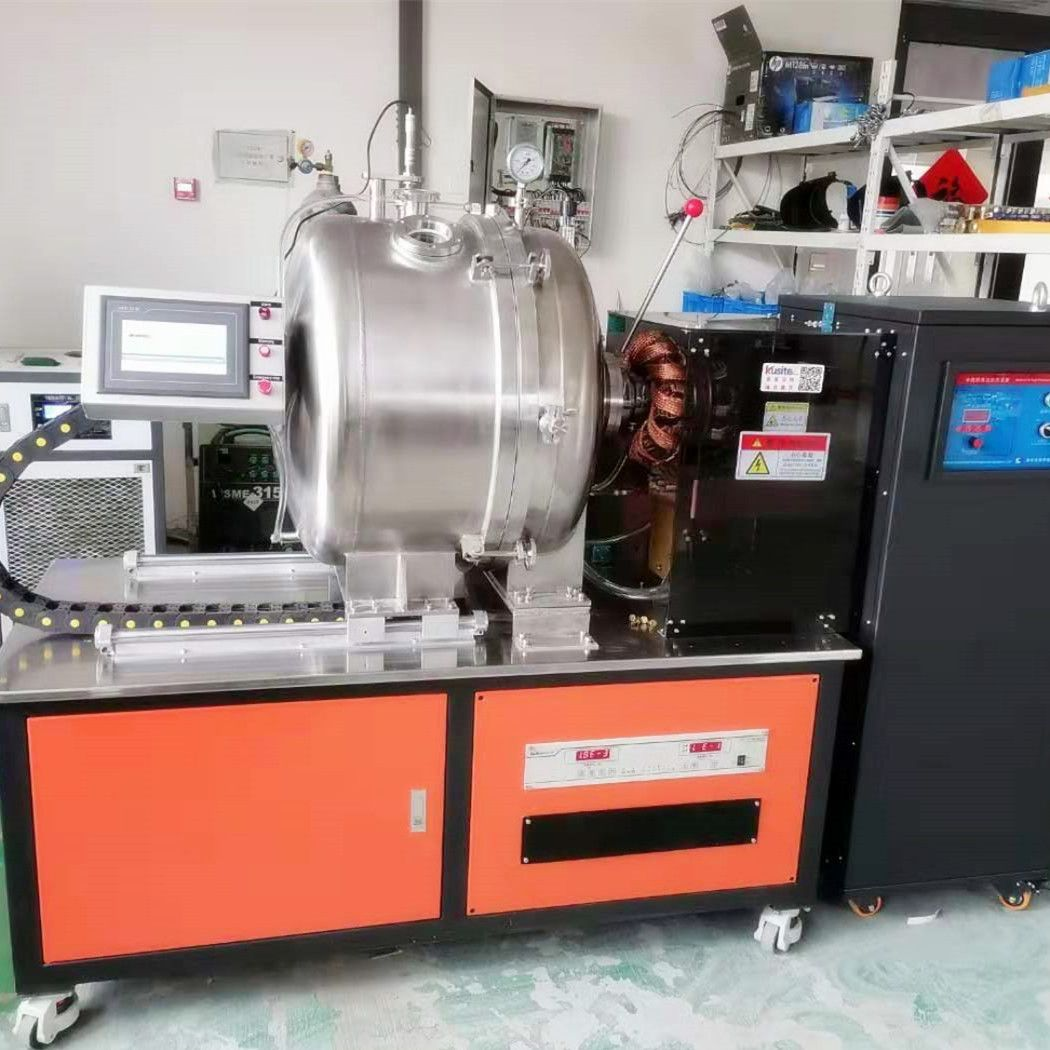 尔莫新材料3kg卧式真空熔炼炉中频炉KZG-3