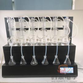 归永6位一体化水蒸汽智能蒸馏仪厂商GY-FSZLY-6