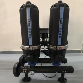 以色列ARKAL阿科guo滤器盘式guo滤器处理量4T/H精度20um自qingxiguo滤器系统YAHJ-2SK-2