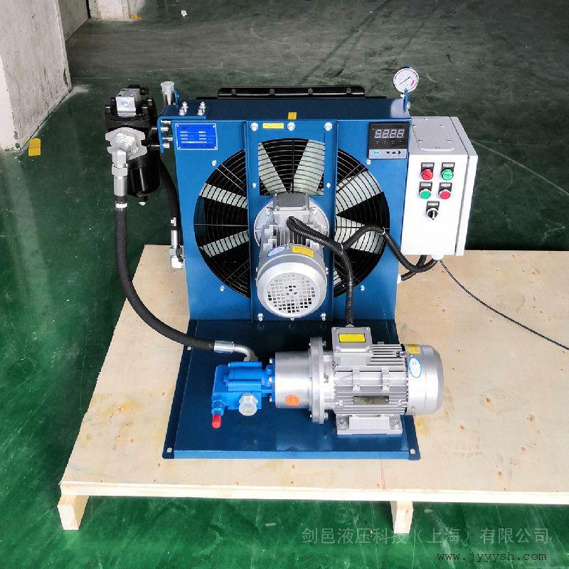 JIAN YI�σ�乜�⑼P惋L冷式油冷�s器 ��立循�h型液�猴L冷�s器散�崞�ELZX-8-A3