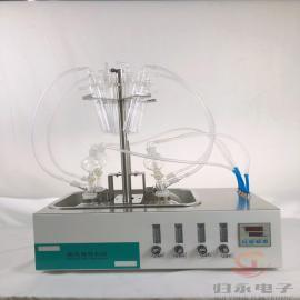 归永电动硫化物酸化吹气仪厂商 便携式硫化物测定仪GY-LHW