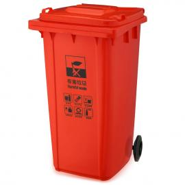 景美姑 苏镀锌板垃圾箱-有害垃圾桶-有害垃圾回收箱
