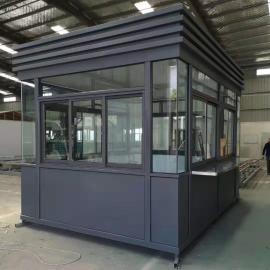 移动铝塑板岗亭定制