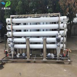 玻璃厂生产用纯水设备光学镜片清洗用纯净水设备 反渗透纯水设备