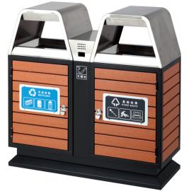 如皋不锈钢果壳箱-分类垃圾箱-户外垃圾桶