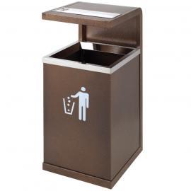 如东不锈钢户外垃圾桶