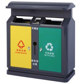 昆山不锈钢果壳箱-不锈钢分类垃圾箱-不锈钢户外垃圾桶