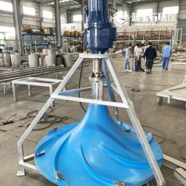 潜水双曲面搅拌器QSJ-1500-3蓝宝石环保
