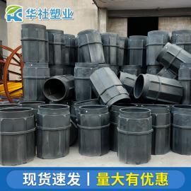 �A社定制各�N��型塑料桶水表井�� 井雨水落水桶可�_模300L