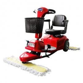 电动推尘车 电瓶座驾式尘推机 驾驶式拖地机 捷恩GEXEEN品牌清洁设备